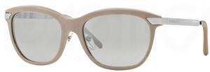 Burberry BE4169Q Beige w/ Grey Mirror Silver Gradient Lenses